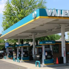 valero gas station